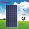 2015 new and hot portable top quality 280w poly solar panels