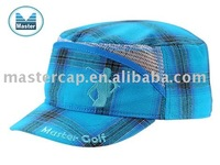 Fashion Style Golf Military Cap with Flat Embroidery