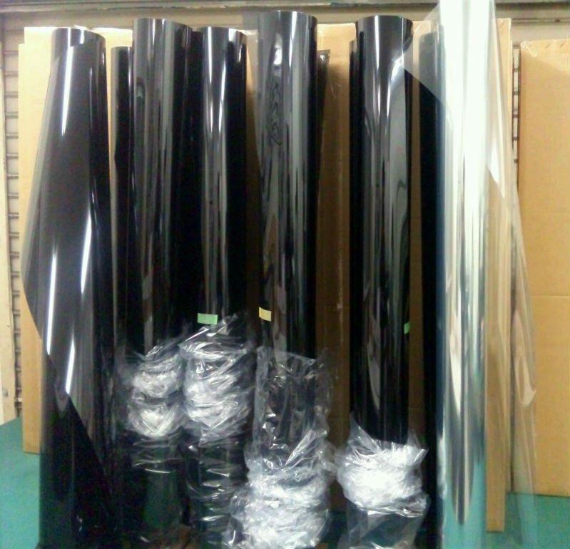 fum e noire vitre de la porte avec des voitures solaires fen tre film teintes fen tres id du. Black Bedroom Furniture Sets. Home Design Ideas
