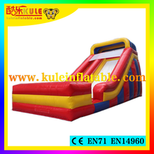 Kule toys hot sale top quality inflatable water slides with pool for backyard pool slides for inground pools
