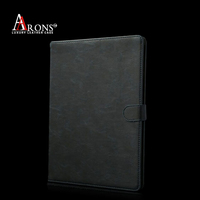 Premium stand leather case for ipad air 2 case