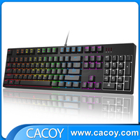 Professional Wired USB Backlit Multimedia LED Gaming Keyboard