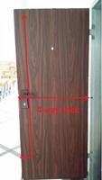 Israeli security doors, Flush design, with 4 way lock, down bucket, bottom rail