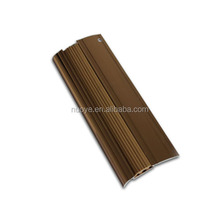 outside ceramic tile stair edge protector/aluminum and rubber stair nosing protector for tile