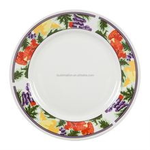 "High quality 8"" Sublimation Plates With Red Strawberry"