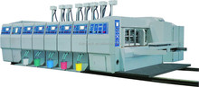 920*1800 Vacuum transfer lead edge feeding four color printer slotter rotary die-cutter with stacker