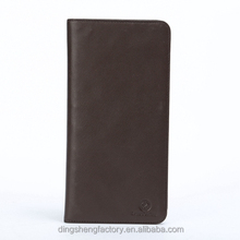 Cheap direct factory custom made rfid travel wallet different colors available