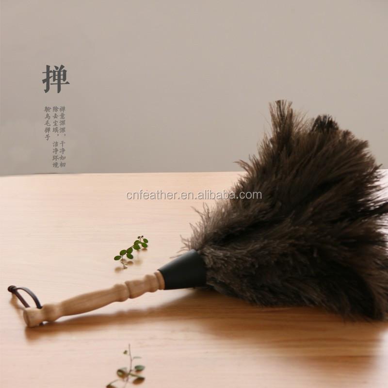 pas cher vente manche en bois plume d 39 autruche chiffon de nettoyage chiffon plume id de produit. Black Bedroom Furniture Sets. Home Design Ideas