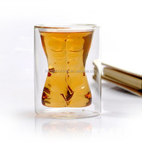Crystal Sexy Naked Muscle Men Cup, whiskey crystal glass bottle