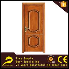 primer/ veneer mould door new teak wooden door salable wood door