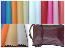 Pop News PVC Colorful Synthetic Leather for Bags and Shoes (cuerina billetera)