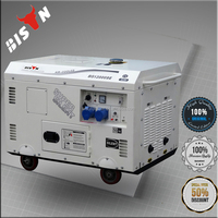 BISON(CHINA) 15kva Alibaba Website Self Start Silent Honda Diesel Generator