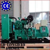 Chinese Factory Electric Power Open type Diesel Genset 30kw