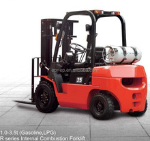 EP R Series Gasoline LPG Powered New Model 1.0-3.5t Gas Forklift