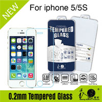 NEW! 9H anti-shock anti-fingerpint high clear 2.5d edge 0.2mm for 3D touch tempered glass screen protector for iphone