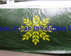 giant inflatable air jumping bag/ inflatable jumping pillow for ski