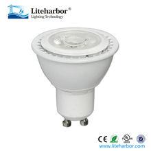 Alta calidad ahorro de energía dimmable 8 W led gu10 bombilla