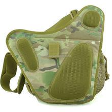 CP camo saddle bag crossbody shouder bag with one strap tactical outdoor gear