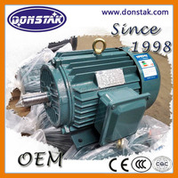 5.5 KW Three Phase Water Pump Asynchronous Motor, AC industrial Electric Motor