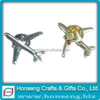 3D Airplane Airplane Lapel Pin