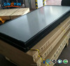 Flat plate water heater solar heating collector with grid type copper pipe