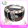 puppy soft playpen exercise pen folding crate paw decoration
