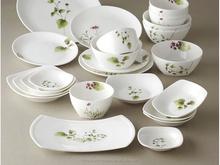 Venda quente restaurante quadrado branco de cerâmica placas de carregador