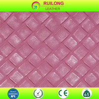 embossed weave leather for make tote bags for Malaysia ,Singapore