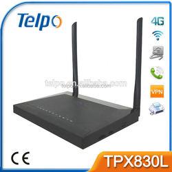 Telpo TPX820 4G LTE Gateway cross network voip adapter t.38