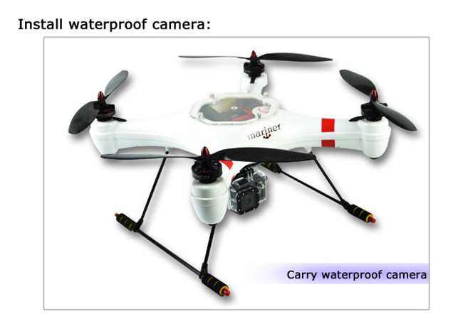 Hot Sale RC Drone Mariner Waterproof Quad-copter FPV KIT for FPV ...