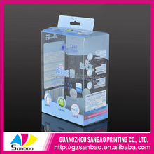 Newest Eco friendly Clear Plastic printed PET PP packaging box manufacturer