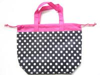Foldable promotion wholesale recycled custom nonwoven shopping bag