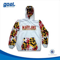 Cheap team brand name hoodies for men with printing