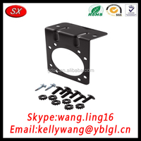 Customized Black Stainless Steel Camera Bracket With Screws Nuts