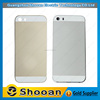oem cell phone parts wholesale for iphone5s custom back cover case