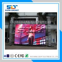 SLT waterproof RGB latest video xxx p10 outdoor led display