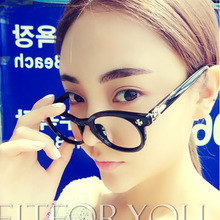 ewhxyj The new men and women plain mirror box metal pins inserted heart Xiaoming with wholesale eyewear frame 189