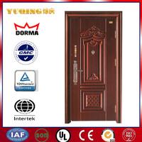 YQST702 Door design security steel door, steel entry door, used exterior french door for sale