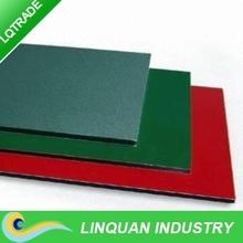 2000mm width Aluminium composite panel with PE and PVDF Coated
