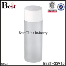 alibaba china frosted 20/30/50g/100ml cylindrical glass container with tap