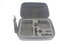 F09707 M Size Shockproof Waterproof Hard Case Storage Box Camera Bag 23*17*7CM for HD 3