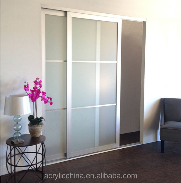 living room acrylic furniture acrylic sliding doors high quality
