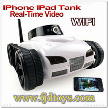 777-287 App-Controlled By iPhone/iPod/Android i-Spy Toys Car With CCTV Camera