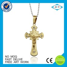 Cheap 22k gold cross pendant with good quality