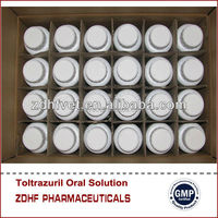 Poultry farm disinfectant Toltrazuril Oral Solution 2.5% for Poultry with 1L