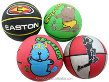 Wholesale Basketball rubber colorful