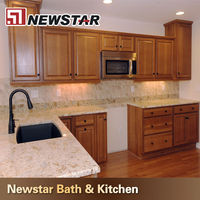kitchen double bullnose granite countertop