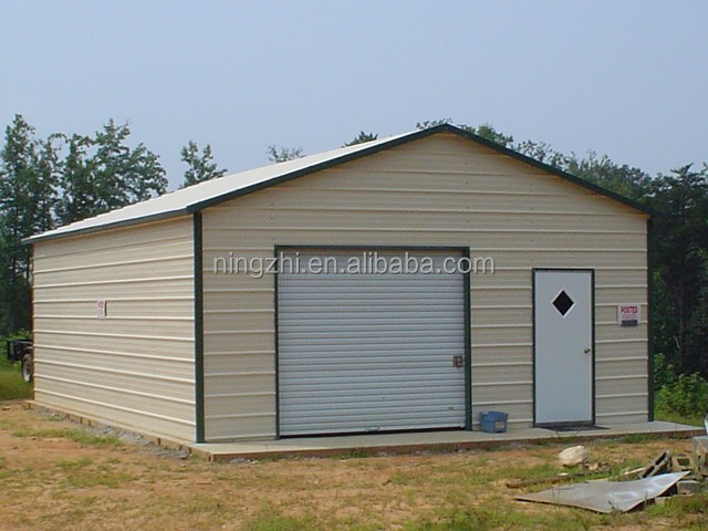 Prefab metal garages prefabricated garage kits view for Diy garage packages
