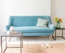 NUMEN high quality british style fashionable two seat fabric sofa