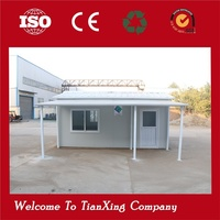 Hot New Cheap After-disaster Mobile Temporary cheap wooden prefab homes for sale